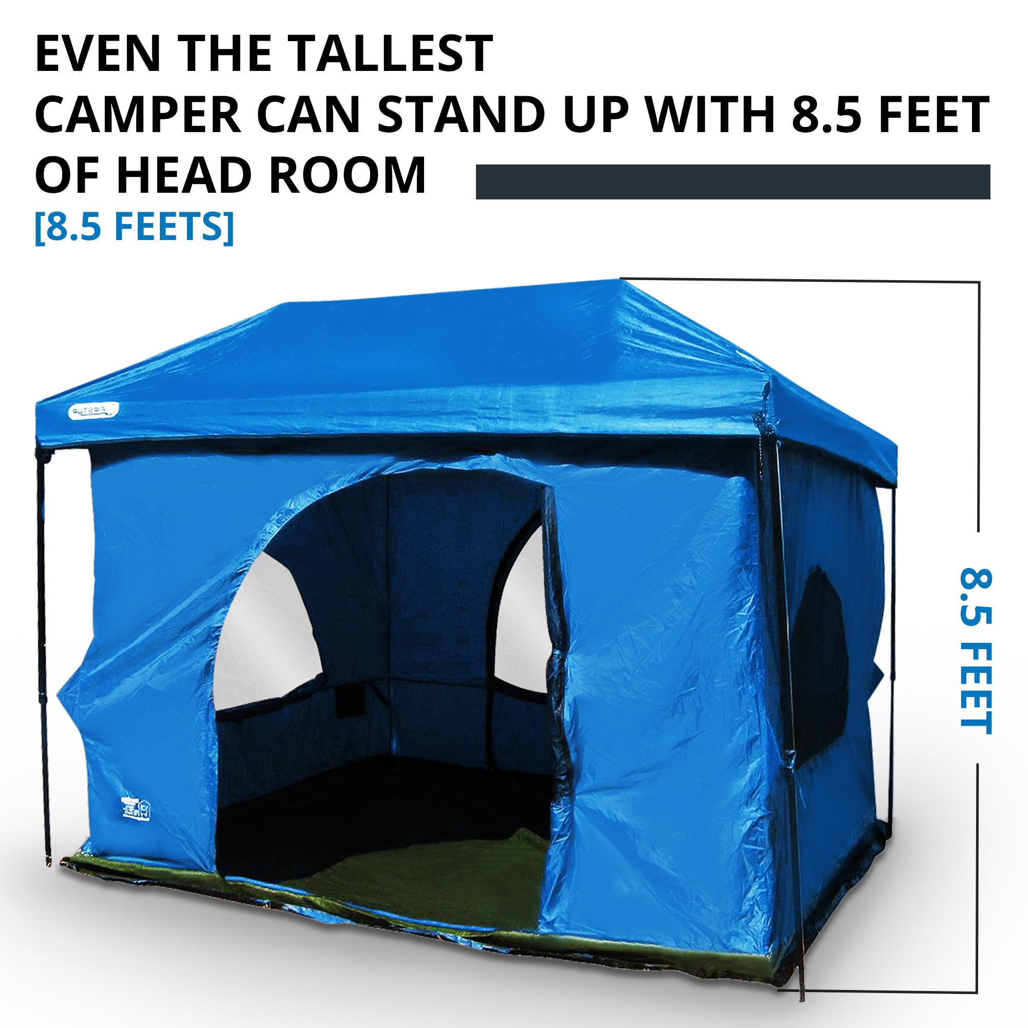 sc 1 th 225 & Standing Room 100 hanging Tent - Standing Room Tents