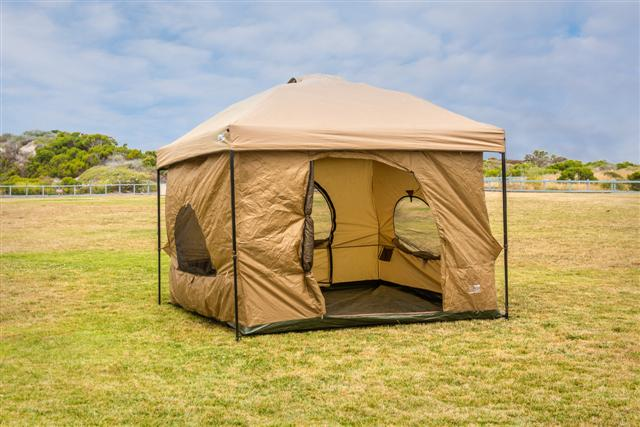 Hanging tent standing room 100 hanging tent cacoon for Small 2 room tent